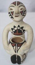 Vintage Ignacia Duran Southwest Native American Indian Pueblo Pottery Rain God