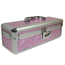 Lockable Vibrator Case - Regular - Pink - Discreet Adult Novelty Toy Box