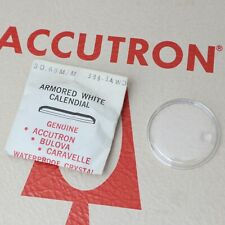Bulova Accutron Watch Crystal 30.65mm Part #388-3AWD New Old Stock Parts Repairs