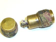 VINTAGE pocket Wick Lighter W. Rope Coat-CYLINDER forma-NICE-Made in Austria