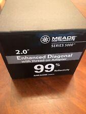 "Meade Instruments 07680 Series 5000 2"" Enhanced Dielectric Diagonal Mirror 1-W84"