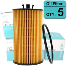 SET OF (5) Oil Filter 93185674 For Chevrolet Aveo Cruze Sonic Trax Saturn Buick