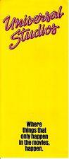 "Universal Studios ""Things That Only Happen in Movies"" 1983 CA Vintage Brochure"