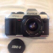 Konica Ft-1 Motor Camera w/ Star-D Mc Auto 28mm 1:2.8
