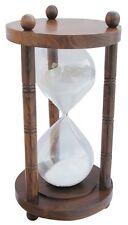 G4143: Maritime XXL ore, doppio glasenuhr, CLESSIDRA, legno 60 minuti