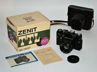 "RUSSIAN USSR ""ZENIT-TTL"" camera + HELIOS-44M lens, BOXED SET (5)"