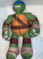"TMNT Teenage Mutant Ninja Turtles Leonardo Playmates 16"" Plush"