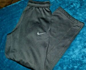 Boys size 10 - 12 Nike athletic pants Black therma fit