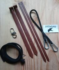 Falconry Kit Set - Jesses - Leash - Swivel + More - Top Quality and Reliable!
