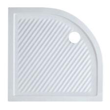 Piatto doccia ceramica 90x90 ultraslim design moderno semicircolare x box doccia