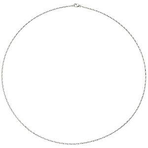 Collier 750/-Weißgold  diamantiert;