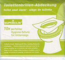 10er-Pack SUPERCLIN Toilettenbrillen-Abdeckung, Brillenschutz, Hygieneauflagen