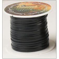 "Superior Calf Lace Black 1/8"" x 50 yds. (3.2 mm x 47.2 M) 5007-01"