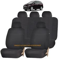 BLACK ELEGANCE AIRBAG COMPATIBLE SEAT COVER SET for MAZDA 3 5 CX-9