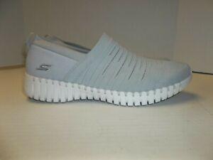 Womens Size 10 Skechers Gowalk Smart Wise Shoes 124043 Goga Mat Sneakers Gray