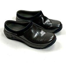 Merrell Womens Mules Clogs Shoes Brown Slip On Low Heel Comfort 9.5 EU 40.5