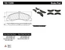 C-TEK Metallic Brake Pads fits 2008-2016 Ford E-350 Super Duty E-150,E-250  C-TE