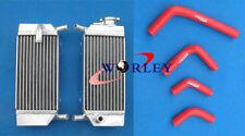 HONDA CRF250 CRF250R/X ALUMINUM RADIATOR& HOSE 04-09 05 06 07 08 2004 2005 2006