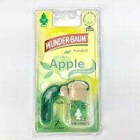 4 x Stück Original Wunderbaum 461207 Duftflakon Apple Lufterfrischer Autoduft