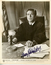"""EFREM ZIMBALIST, JR. - Movie Still Photo from """"A Fever in the Blood"""" - SIGNED"""