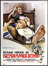 CINEMA-manifesto SULLE ORME DI SCARAMOUCHE krug, beyer; WALLROTH