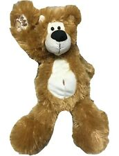 "First & Main Plush Brown ""Kodiak Zak"" 12"" Teddy Bear Fuzzy Soft"