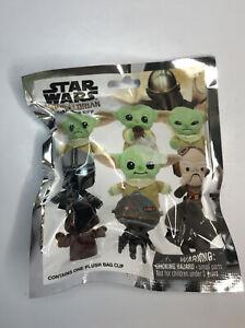 Disney Star Wars The Mandalorian Plush Bag Clip NEW