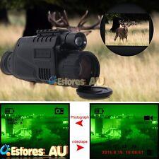 【AU】WG-37 Digital IR Night Vision Monocular 5x40 200m Range Record 4G DVR Pics