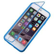 Housses et coques anti-chocs bleus Pour iPhone 6 en silicone, caoutchouc, gel pour téléphone mobile et assistant personnel (PDA)