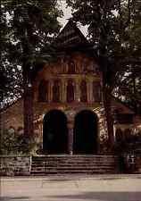 Kirchen Motiv-Postkarte Kirche Dom Vorhalle Church in GOSLAR Harz Niedersachsen