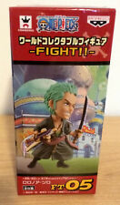"""One Piece WCF Fight Roronoa Zoro 2.5"""" World Collectible Figure Sealed NEW FT05"""