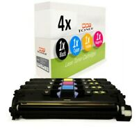 4x Cartridge Replaces Canon 701BK 701C 701M 70