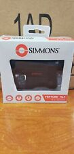 New - Simmons 6x20mm Venture Tilt Laser Rangefinder  (Black) SVL620BT