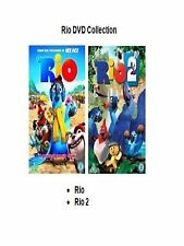 RIO / RIO 2 DVD 2 MOVIE FILM COLLECTION PART 1 + 2 Animated Brand New Sealed UK