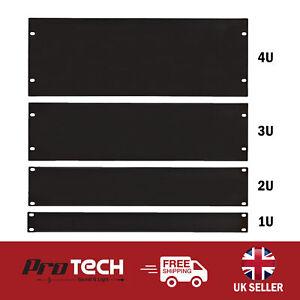 Rack Blanking Panels 19 Inch 1U 2U 3U 4U Powder Coated Plate Rack Fixing Kit