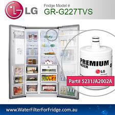 2x GR-G227TVS LG PREMIUM FILTER 5231JA2002A /5231JA2002A-S/LT500P GENUINE PART