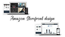 Complete Professional Custom Amazon Store Design 100% compliant with new rules