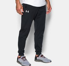 New With Tags Men's Under Armour Black Gym Muscle Jogger Pants Sweatpants