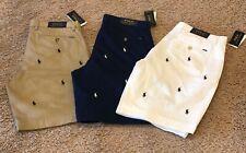 "Nova Camiseta Polo Ralph Lauren Masculina Multi Pony Golf Prospect shorts stretch 9"" Classic"
