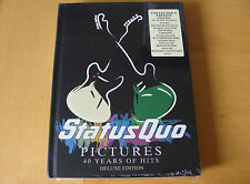 Slip Treble: Status Quo : Pictures : 2 CDs, DVD & Book Deluxe Edition : Sealed