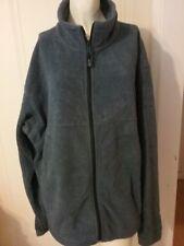 Men's Columbia Sportswear Company Fleece Jacket Zip Up Blue Size Large