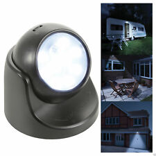 LYYT 154.845 Compact and Bright Battery Powered LED Motion Sensor Light - Black