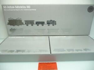 Märklin 0050 H0 3L ~ Caja Vacía / Cartón Original Con Zertifikaten Y Monedas