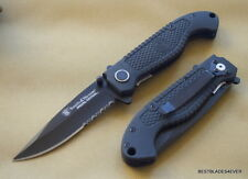 SMITH & WESSON SPECIAL TACTICAL FOLDING KNIFE 4.5 INCH CLOSED WITH POCKET CLIP