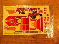 RD-31 Decal - Kyosho Raider Pro / Turbo Raider Pro