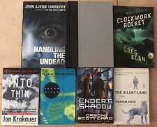 Lot Of 7 Books - Fiction Nonfiction Thriller Horror Science fiction