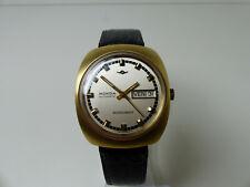 Vintage Herren Armband Uhr Mondia Moonlander Zenith Automatic Top zust  Selten