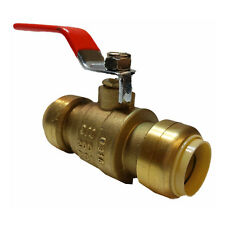 3/4 Inch Lead Free Sharkbite Style Push Fit Ball Valve