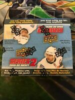 UPPER DECK 2008-09 HOCKEY SERIES 2 Factory Sealed BOOSTER Box | 1 Box | RARE
