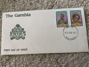 1992 THE GAMBIA   Muddy Waters & Ma Rainey Scott #1180,1182  FDC